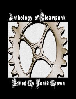 Steampunk anthology cover